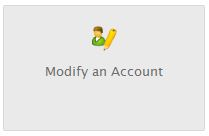 Home > Account Functions > Modify an Account