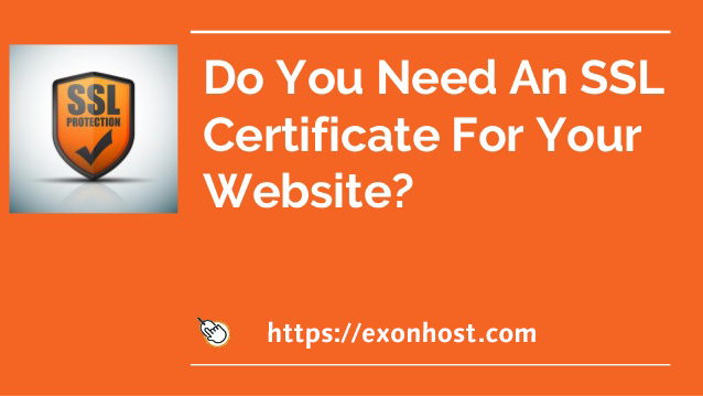 Why do your website need SSL certificate?