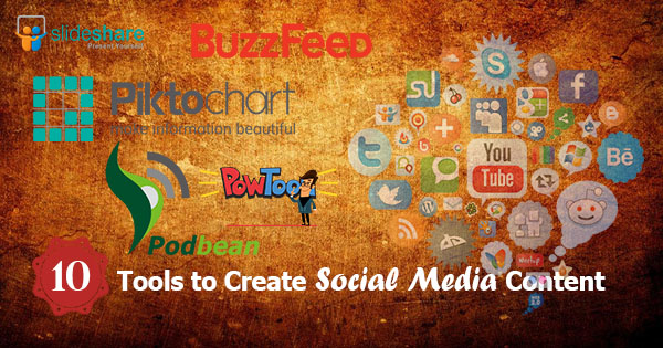 10 Tools to Create Social Media Content
